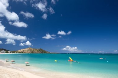 Grand Case Beach, St Martin, Caribbean
