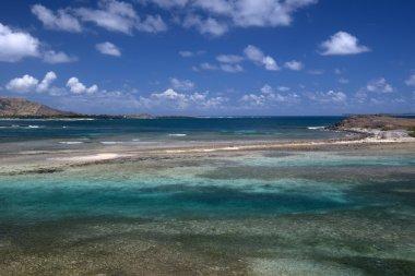 Coast of Saint Martin, Caribbean
