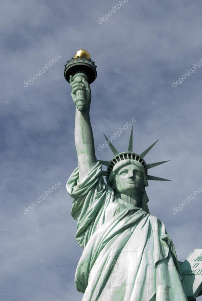 The Statue of Liberty of New York