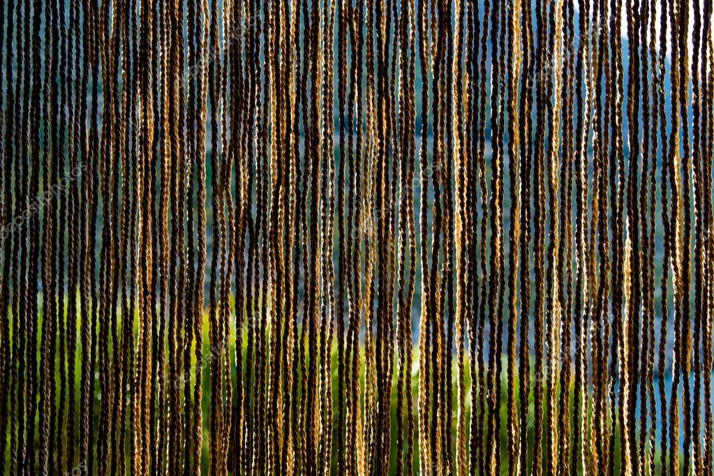tende fatte di paglia naturale — foto stock © beketoff #77165629