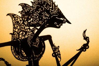 Wayang kulit shadow puppet