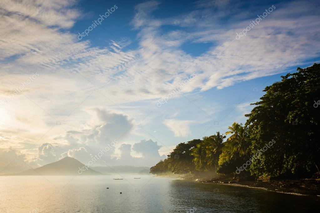 Banda islands landscape, Maluku, Indonesia