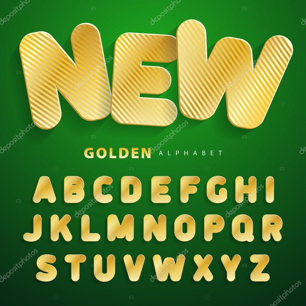 textura de rayas oro abc abecedario de pegatinas superficies de papel cartn imitating fuente de oro para un amplio uso en publicidad y web