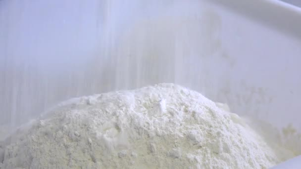 metering and weighing of wheat flour