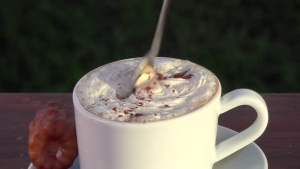 Cappuccino whith krémů