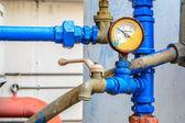 chladič vodní čerpadlo s tlakoměrem