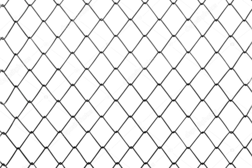 Wire fence background, blur focus — Stock Photo © pikyarm108@gmail ...