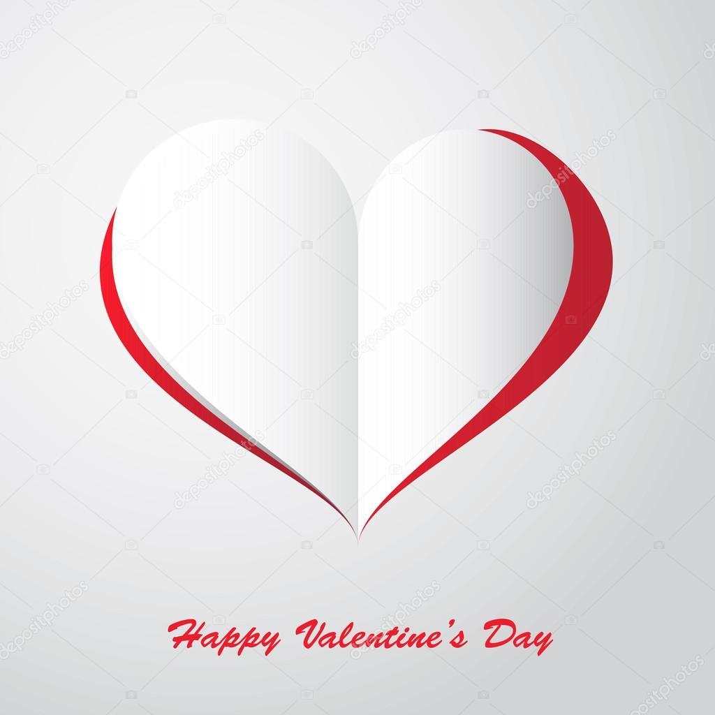 Heart Symbol Illustrator Papel Corazones Decorativos Vector