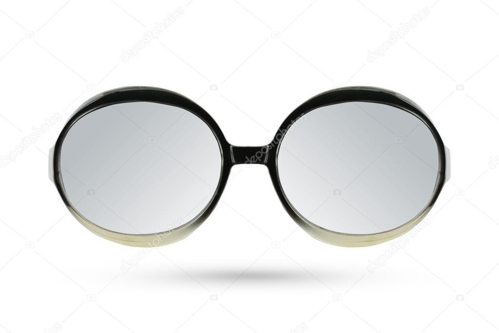 d55f1effaa1725 Katze Augen zu maskieren Mode Brillen-Stil auf weißen Rückseite isoliert —  Stockfoto