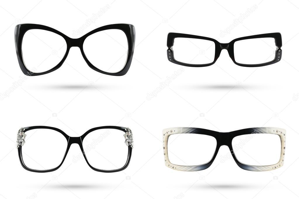 Moda gafas interspace estilo colecciones de marcos de plástico isol ...