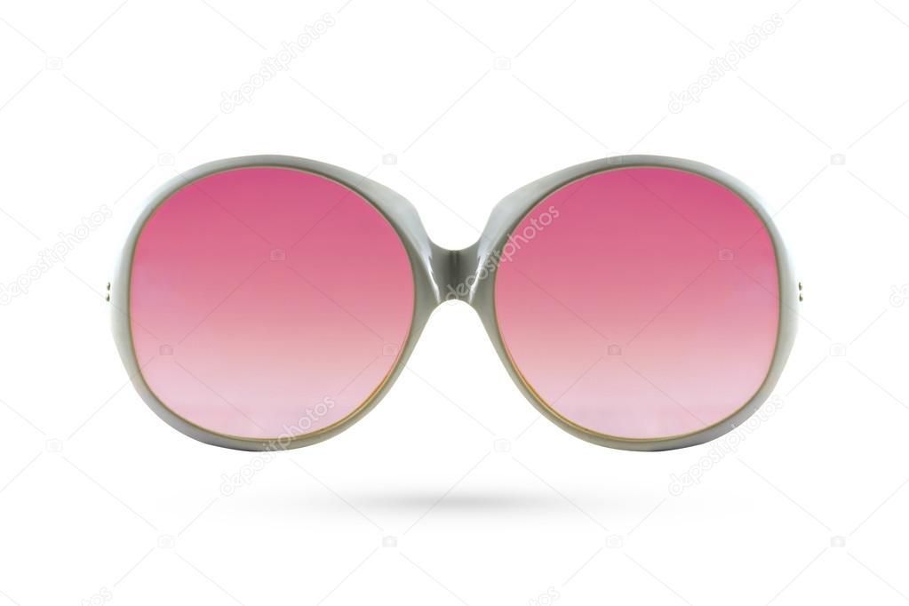 Clásico estilo de lentes aislada sobre fondo blanco — Foto de stock ...