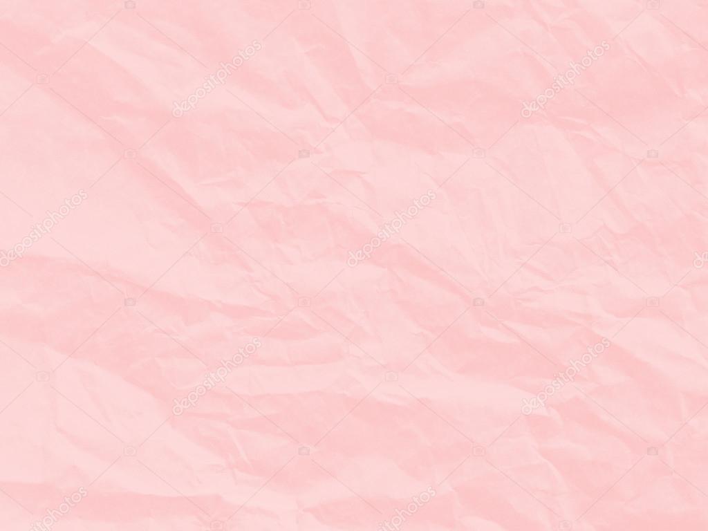 Fondos De Hojas De Papel: Textura De Papel De Arte. Único Color Rosa Suave Arrugado