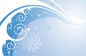 Winter wind background