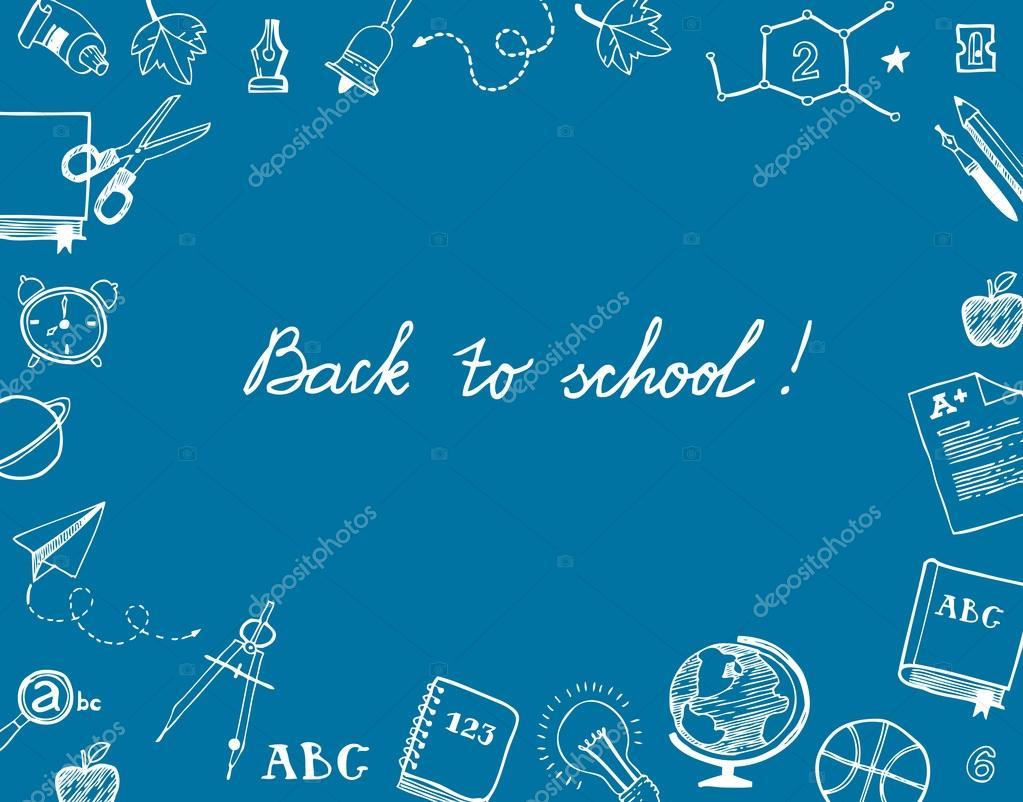 Back To School Greetings Stock Vector Elapela 82251604