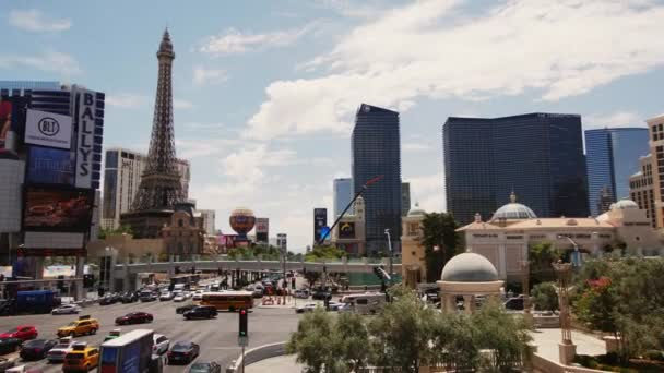 Steadicamnél Las Vegas. View Hotel Párizs, Eiffel-torony