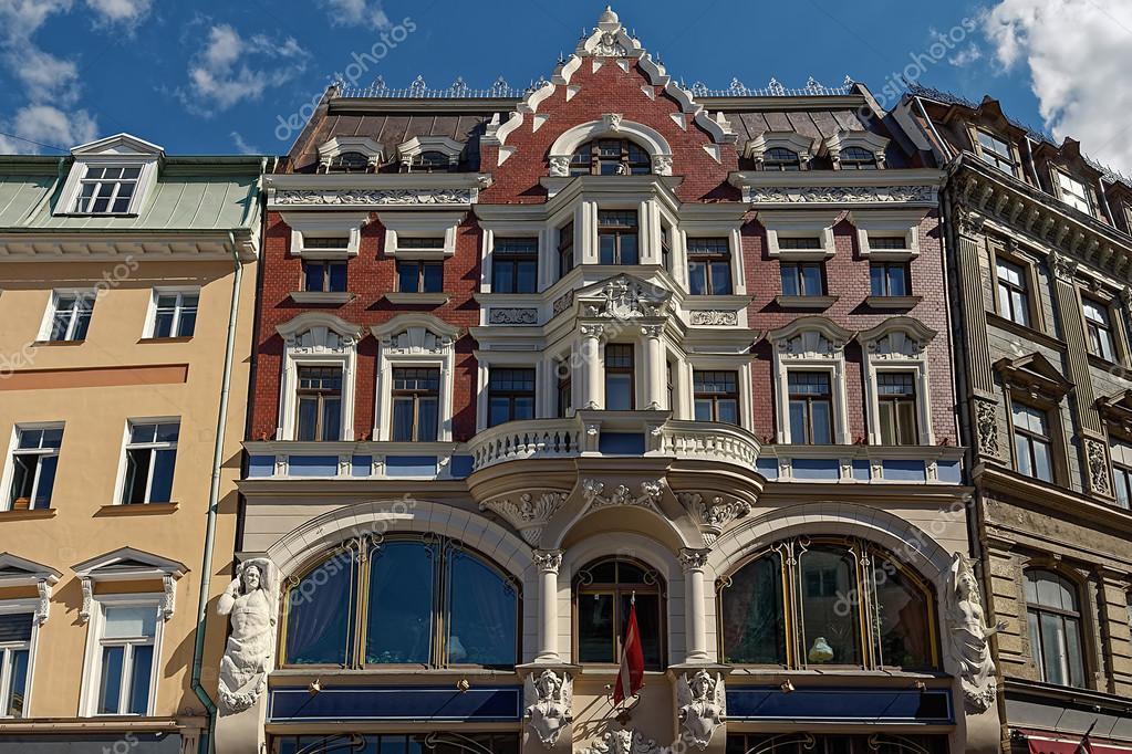 Arquitetura de jugendstil na cidade velha de riga - Art nouveau architecture de barcelone revisitee ...