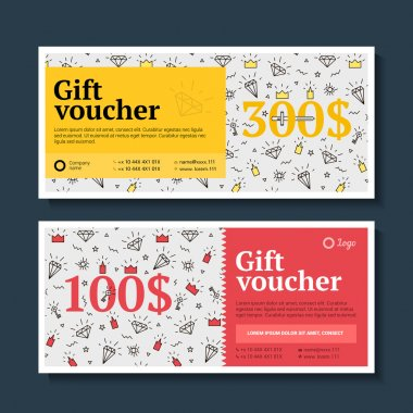 gift certificate with gifts