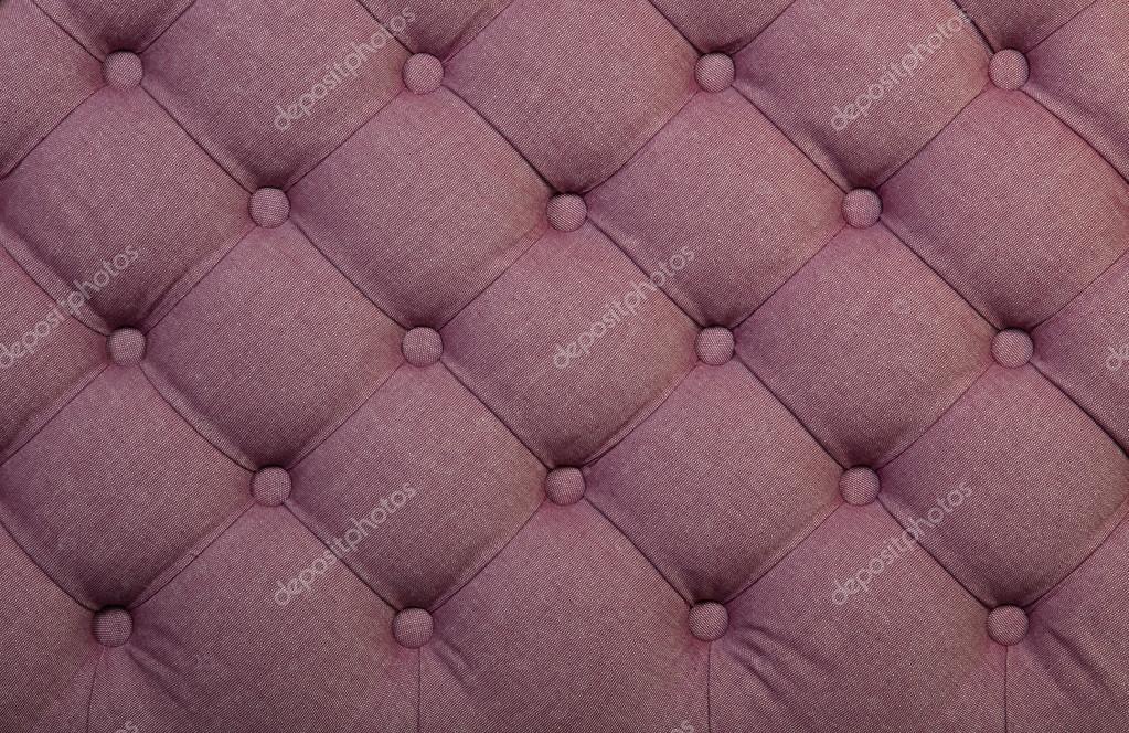 Rosa capitone tufted textura de tapicería de tela — Fotos de Stock ...