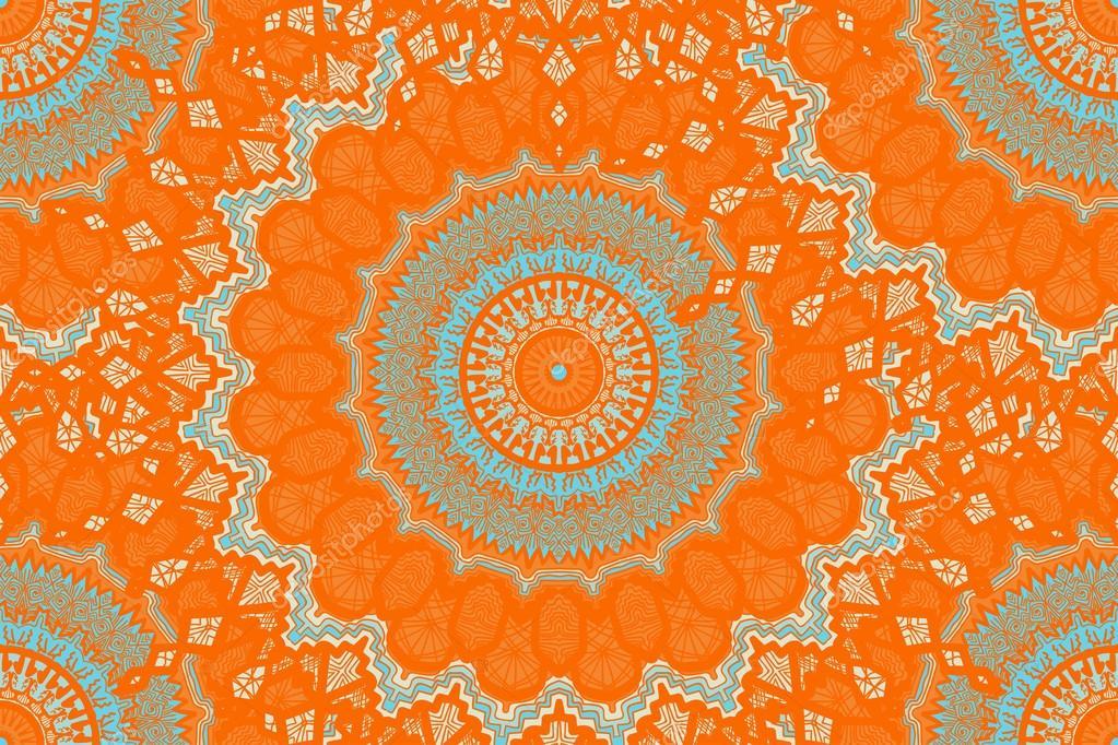 Mod le sans couture de mandala image vectorielle - Modele de mandala ...