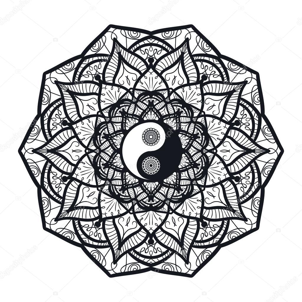 tatouage ying yang a 2