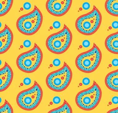 Seamless indian pattern