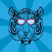 Fotografia Linea arte Tiger