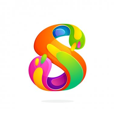 S letter colorful logo.