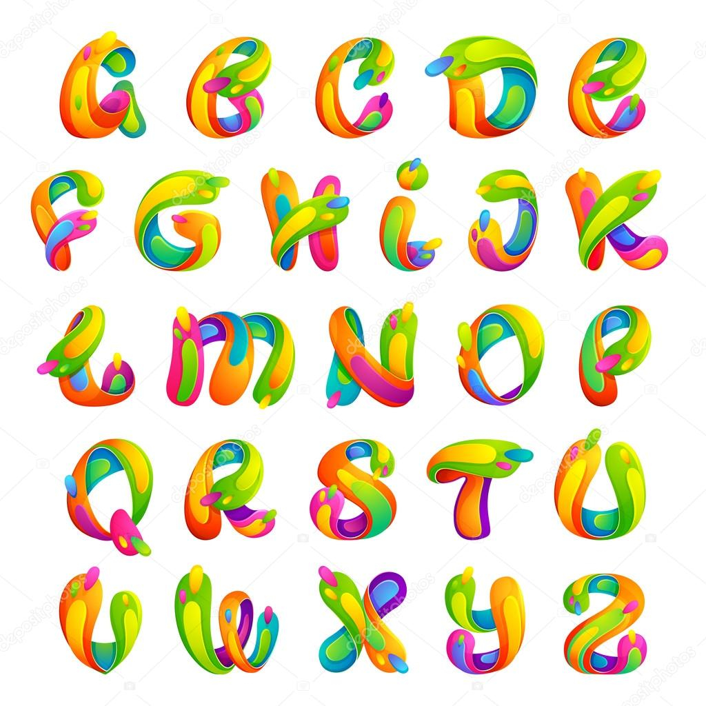 funny colorful alphabet letters stock vector kaer dstock 100842540 rh depositphotos com vector letters png vector letters online