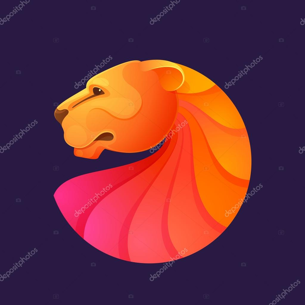 d40854f911 Animal design template elements for your corporate identity or sport team  branding. — Vector by kaer dstock
