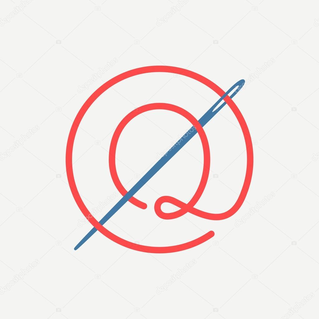 9c21b15ac Q logotipo da letra — Vetores de Stock © kaer dstock  102998974