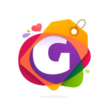 G letter logo with Sale tag.