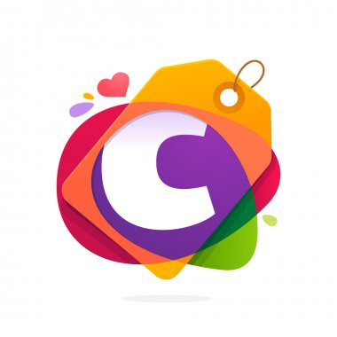 C letter logo with Sale tag.