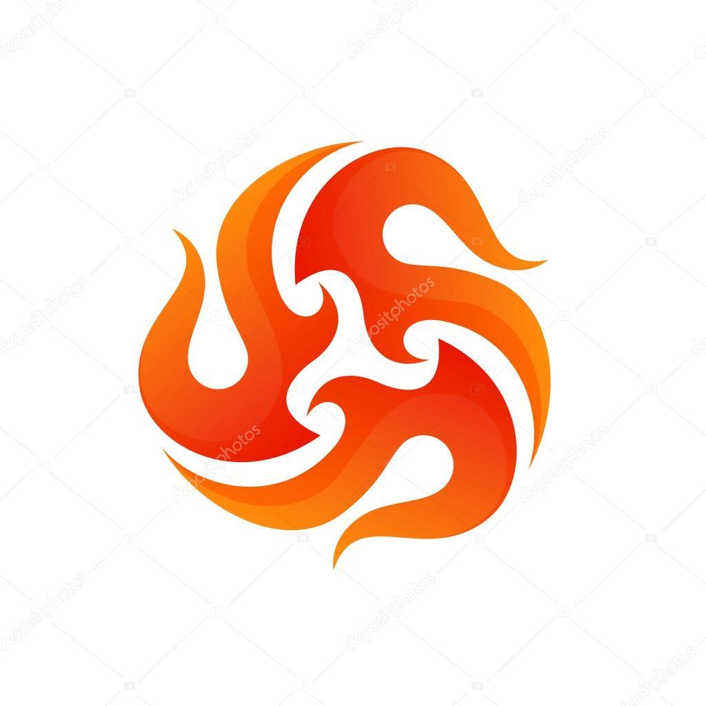 fogo chamas logo 205cone da flama 205cone do la231o de fogo
