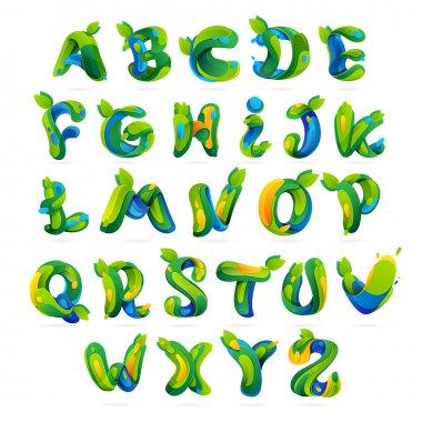 Ecology english alphabet