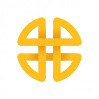 Yellow H letter   logo icon