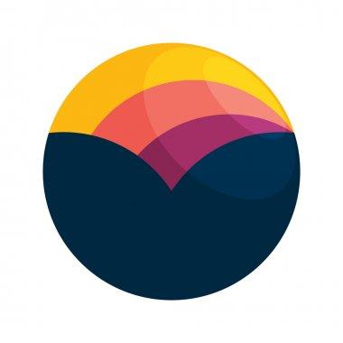 Sunset  logo icon