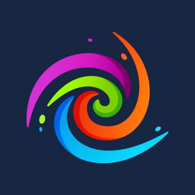 Abstract circle logo
