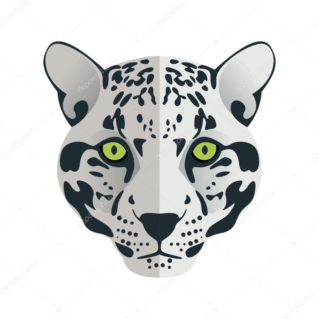jaguar head flat logo