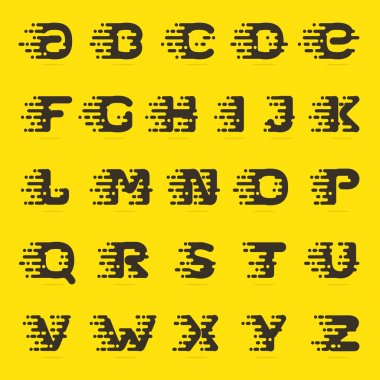 english alphabet letters.