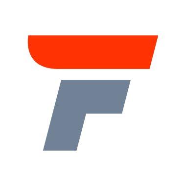 F letter logo design template