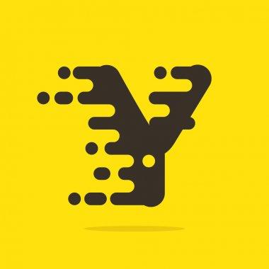 Y letter logo design template.
