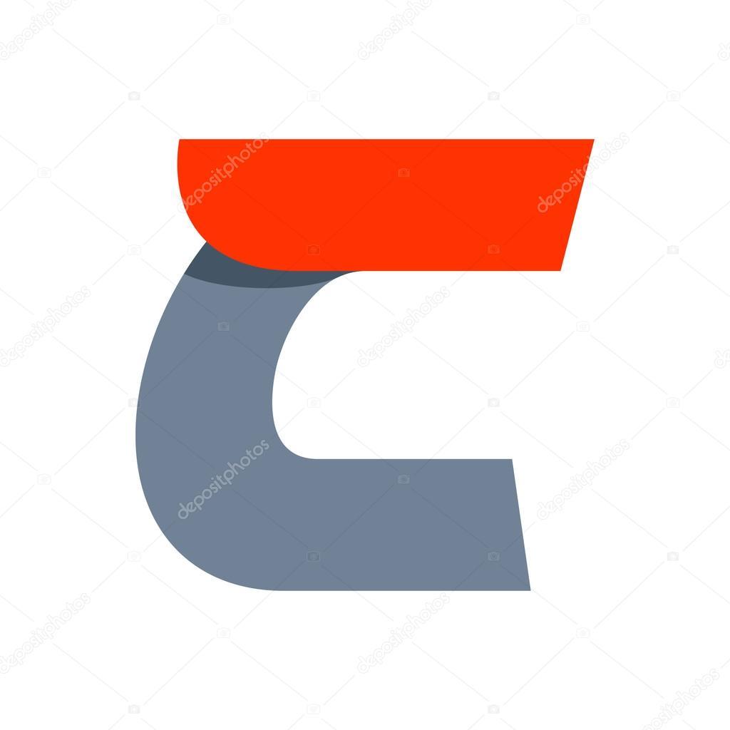 c6c0da58f1 Modelo de design de logotipo de letra C — Vetores de Stock ...