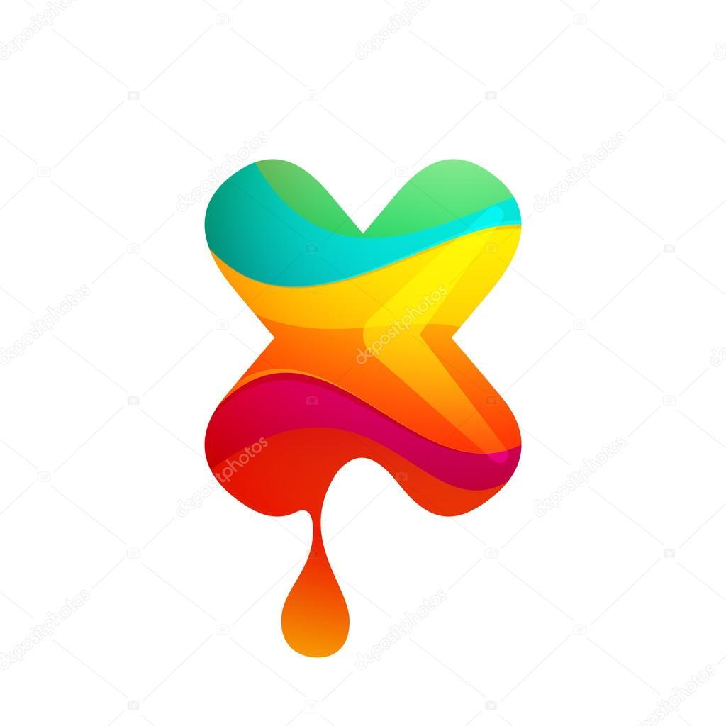 Letra de plantilla X diseño — Vector de stock © kaer_dstock #81300682