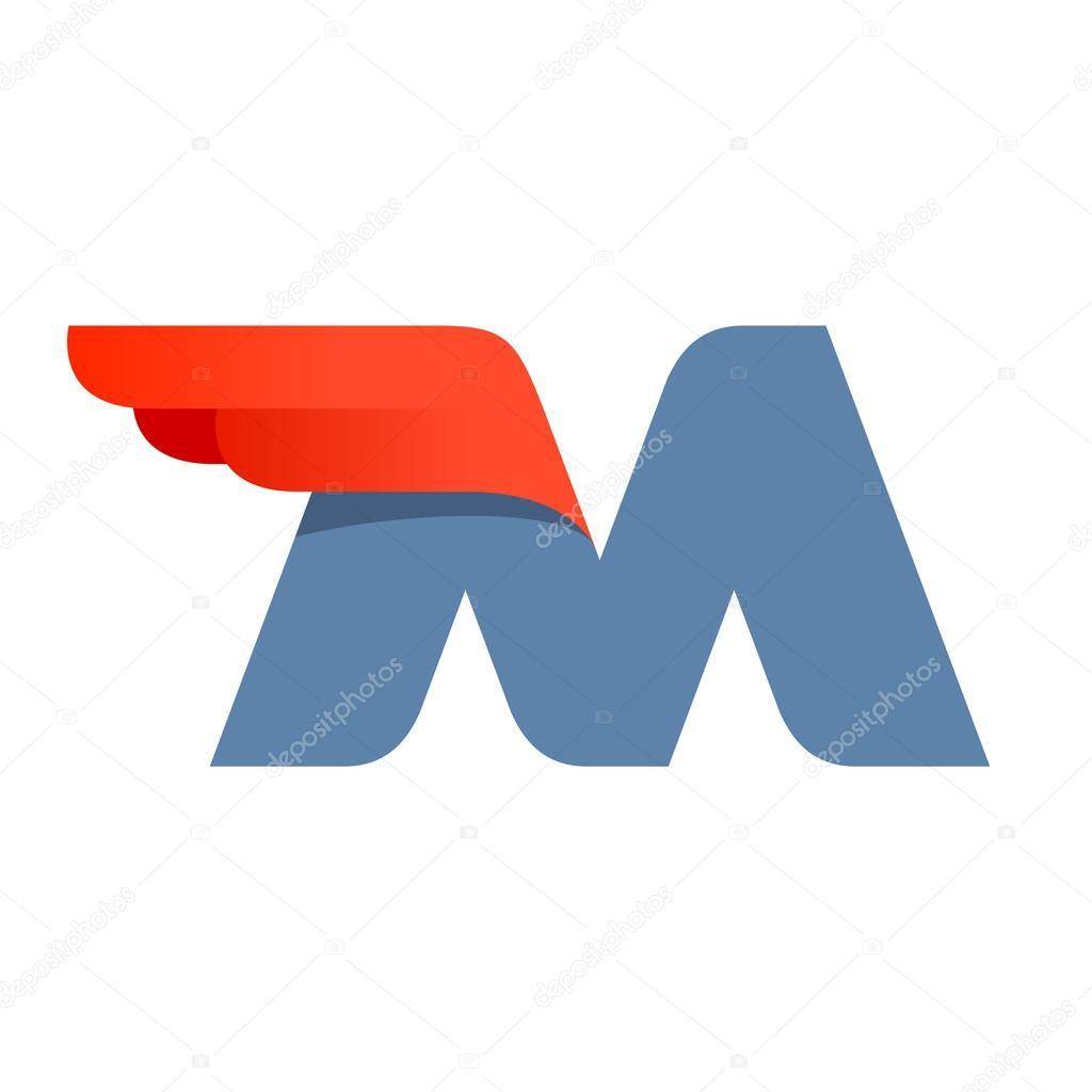 voorbeeldbrief promotie ontwerp voorbeeldbrief M — Stockvector © kaer_dstock #81301190 voorbeeldbrief promotie