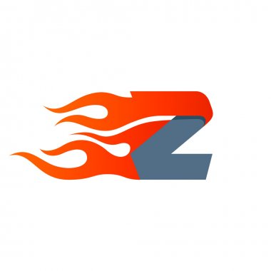 Z letter template element