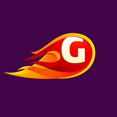 G letter template element