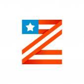 Fényképek Z betű amerikai csillagok és csíkok