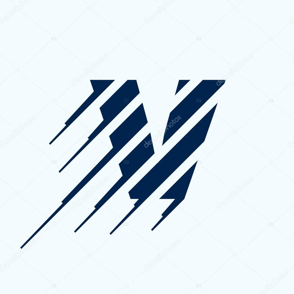 v 文字ロゴ デザイン テンプレート ストックベクター kaer dstock