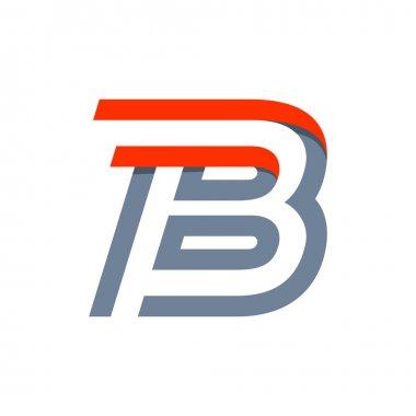 B letter fast speed logo.