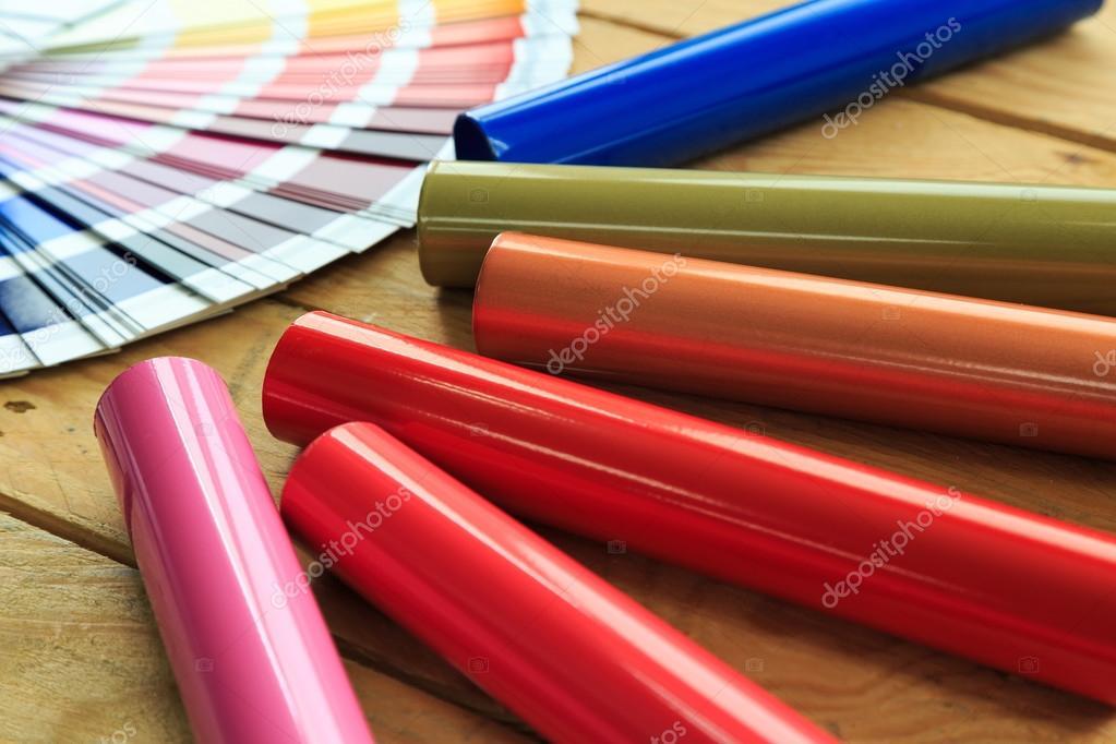 Pokryte Kolorowe Malowanie Proszkowe Profili Aluminiowych Zdjęcie